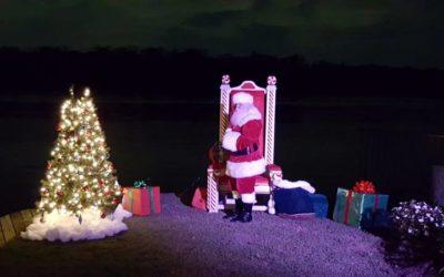 Lighting up Christmas on the Creek
