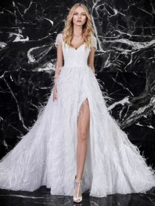 wedding dress trends 2018