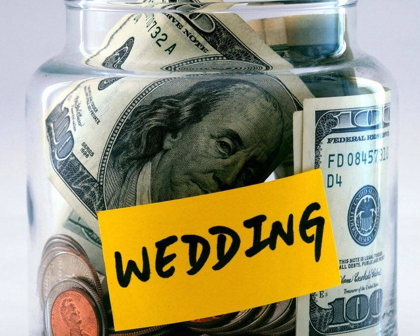 Creating a wedding budget